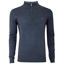 Buy Calvin Klein Heather Half Zip Golf Jumper Online at johnlewis.com