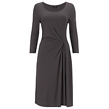 Buy Phase Eight Kate Plain Dress, Grey Online at johnlewis.com