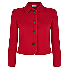Buy Hobbs Lyne Jacket, Red Online at johnlewis.com