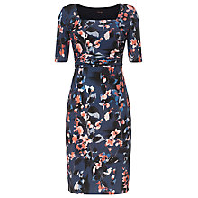 Buy Phase Eight Clairebell Square Neck Dress, Multi Online at johnlewis.com