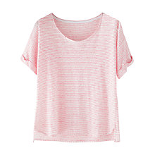 Buy Wrap London Leila Linen T- Shirt Online at johnlewis.com