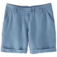 Buy Wrap London Andrea Linen Shorts Online at johnlewis.com