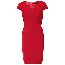 Buy Jaeger Compact Tailoring V-Neck Dress Online at johnlewis.com