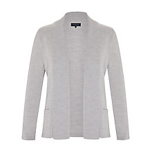 Buy Viyella Merino Wool Cardigan, Grey Marl Online at johnlewis.com