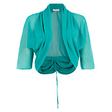 Buy Damsel in a dress Amelia Rosa Shrug, Turquoise Online at johnlewis.com