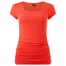 Buy Phase Eight Lucinda Square Neck Top, Paprika Online at johnlewis.com