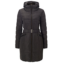 Buy Phase Eight Paula Padded Coat, Slate Online at johnlewis.com
