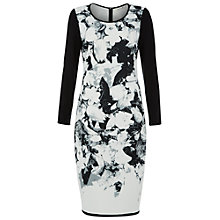 Buy Damsel in a dress NYC Dress, Black/White Online at johnlewis.com