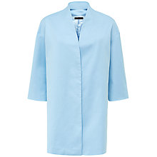 Buy Jaeger Drop Shoulder Coat, Bluebell Online at johnlewis.com