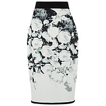 Buy Damsel in a dress Print NYC Skirt, Black Online at johnlewis.com