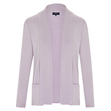 Buy Viyella Petite Wool Cardigan, Lilac Online at johnlewis.com