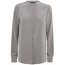 Buy Jaeger Silk Pleat Shirt Online at johnlewis.com