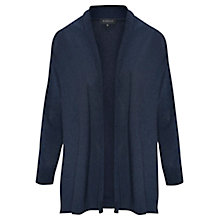 Buy Viyella Denim Effect Cardigan, Navy Online at johnlewis.com