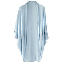 Buy Wrap London Clementine Linen Cardi, Seaspray Online at johnlewis.com