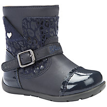 Buy Geox B Kaytan Boots, Dark Navy Online at johnlewis.com