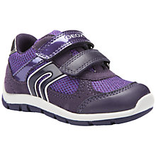 Buy Geox B Shaax Trainers, Purple Online at johnlewis.com