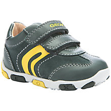 Buy Geox Balu Rip-Tape Shoes, Green Online at johnlewis.com