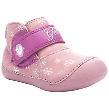 Buy Geox B Tutim Shoes, Pink/Fuschia Online at johnlewis.com