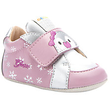 Buy Geox Sor Ian Booties Leather Shoes, Pink/Silver Online at johnlewis.com