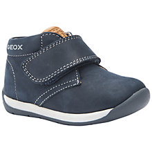 Buy Geox Hi-Top Ankle Boots, Dark Navy Online at johnlewis.com