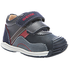 Buy Geox B Toledo Shoes, Navy/Red Online at johnlewis.com