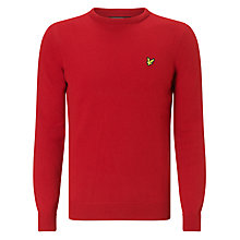 Buy Lyle & Scott Lambswool Crew Neck Jumper Online at johnlewis.com