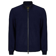 Buy Lyle & Scott Melton Bomber Jacket, Navy Online at johnlewis.com