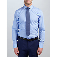 Buy HUGO by Hugo Boss Jenno Mini Square Shirt, Blue Online at johnlewis.com