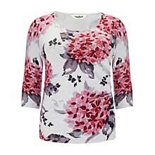 Buy Studio 8 Hydrangea Print Jumper, Pink Online at johnlewis.com