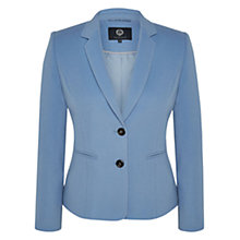 Buy Viyella Cashmere Blend Teddy Jacket, Pale Blue Online at johnlewis.com