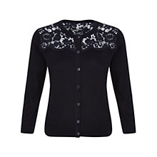 Buy Hobbs Fife Cardigan, Navy Online at johnlewis.com