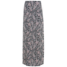 Buy Miss Selfridge Paisley Maxi Skirt, Nude Online at johnlewis.com