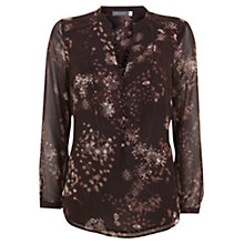 Buy Mint Velvet Alisa Print Rouleau Blouse, Multi Online at johnlewis.com