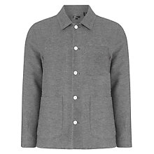 Buy Levi's California Mission Jacket, Coal Online at johnlewis.com