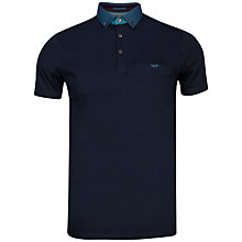 Buy Ted Baker Joe Joe Print Collar Polo Shirt Online at johnlewis.com
