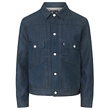 Buy Levi's California Type 2 Trucker Jacket, Orta Denim Online at johnlewis.com