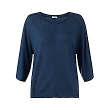 Buy Jigsaw Tencel Wool Raglan Top Online at johnlewis.com
