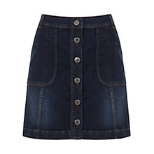 Buy Mint Velvet Denim Mini Skirt, Blue Online at johnlewis.com