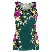 Buy Oasis Placement Print Vest Online at johnlewis.com