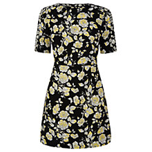 Buy Oasis Sketched Bloom Dress, Multi Online at johnlewis.com