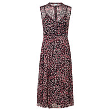 Buy Jigsaw Petal Print Dress, Multi Online at johnlewis.com