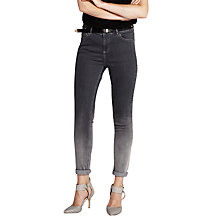 Buy Mint Velvet Ombre Skinny Jeans, Grey/Charcoal Online at johnlewis.com