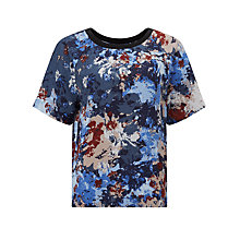 Buy Kin by John Lewis Water Floral Print Top, Multi Online at johnlewis.com