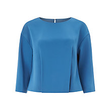 Buy Kin by John Lewis Front Pleated Top Online at johnlewis.com