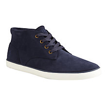 Buy Polo Ralph Lauren Odie Chukka Trainers, Newport Navy Online at johnlewis.com