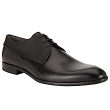 Buy BOSS C-Drespri Leather Shoes, Black Online at johnlewis.com