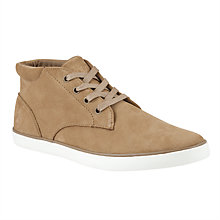 Buy Polo Ralph Lauren Odie Chukka Trainers, Dark Tan Online at johnlewis.com