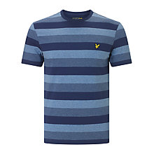 Buy Lyle & Scott Winter Stripe T-shirt, Navy Online at johnlewis.com
