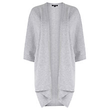 Buy Warehouse Rectangle Cardigan, Light Grey Online at johnlewis.com