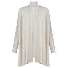 Buy Jigsaw Rice Stitch Blanket Cardigan, Stone Online at johnlewis.com
